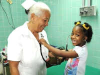 early treatment of children health problems is a priority in Cuba